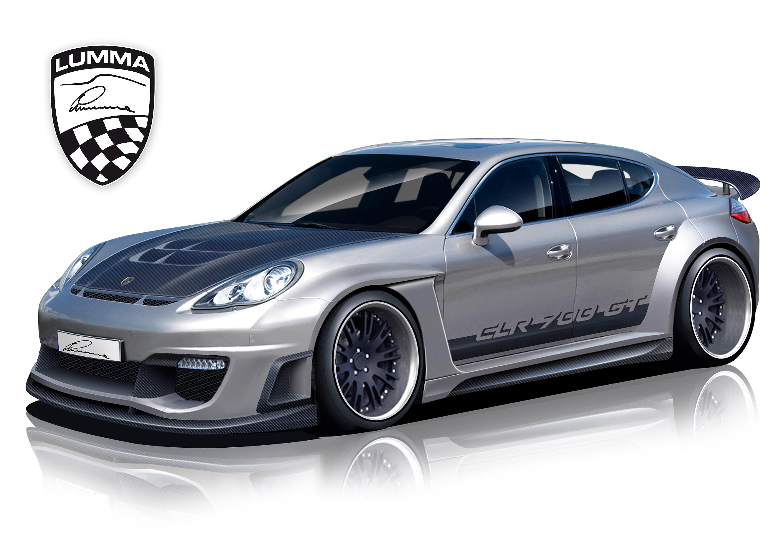 LUMMA Design доработали Porsche Panamera s ultimate - фотография №1