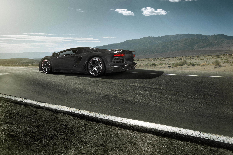 Mansory Карбонадо Lamborghini Aventador LP700-4 - фотография №2