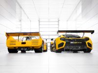McLaren M8D Can-Am Racer And McLaren 12C GT Can-Am Edition