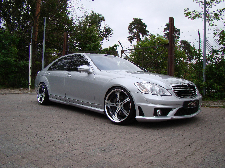 Mercedes-Benz S550 уточненный MEC Design - фотография №2