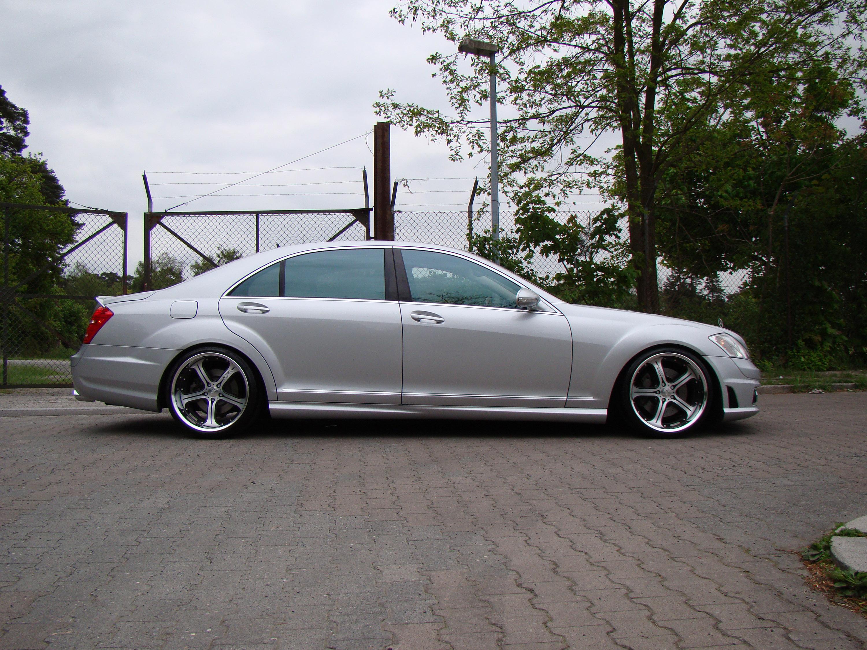 Mercedes-Benz S550 уточненный MEC Design - фотография №3