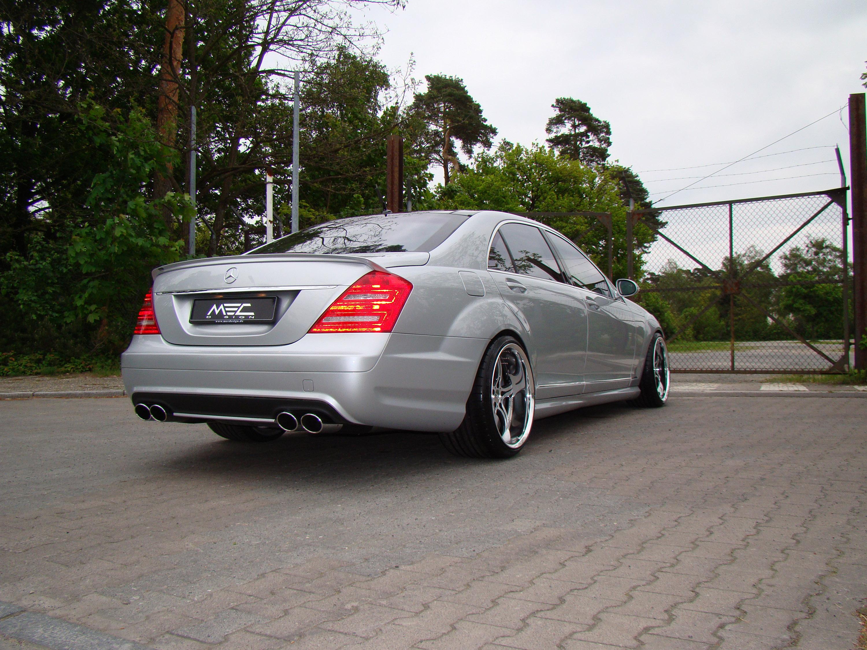 Mercedes-Benz S550 уточненный MEC Design - фотография №7