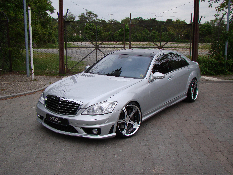 Mercedes-Benz S550 уточненный MEC Design - фотография №12