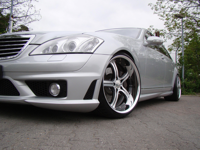 Mercedes-Benz S550 уточненный MEC Design - фотография №15