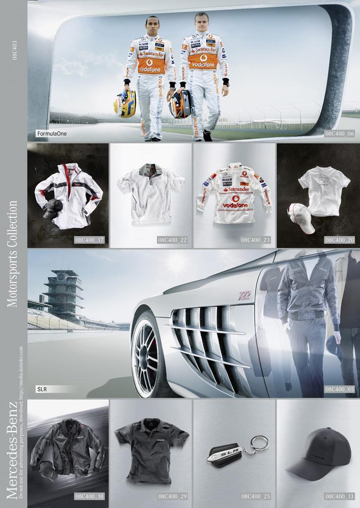 Mercedes-Benz Accessories GmbH представлена в 2008 Motorsports коллекции - фотография №8
