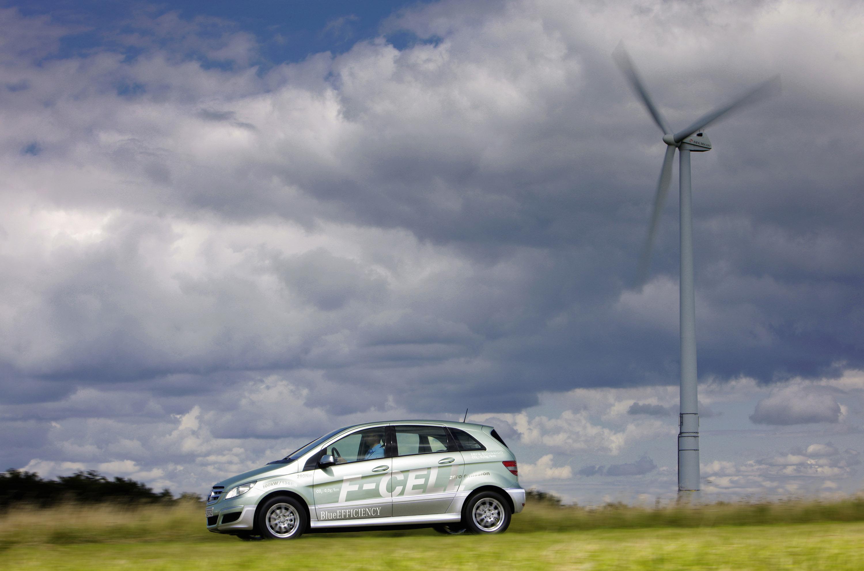 Mercedes-Benz B-класса F-CELL - новый ноль выбросов strike - фотография №1