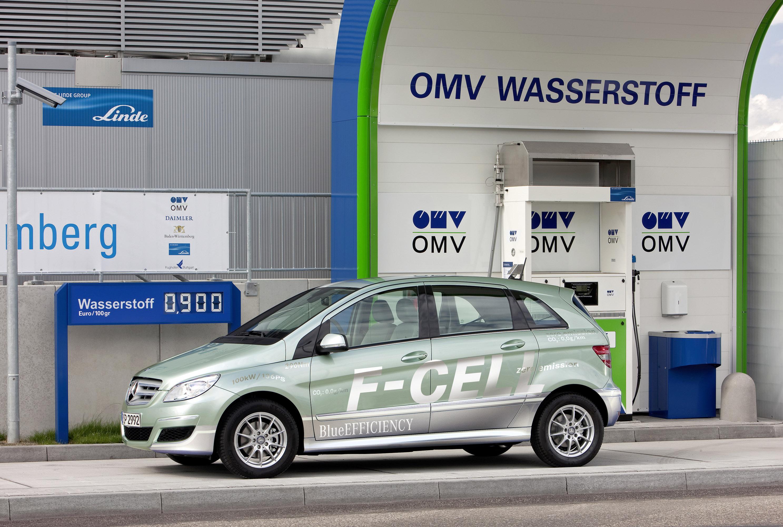 Mercedes-Benz B-класса F-CELL - новый ноль выбросов strike - фотография №2