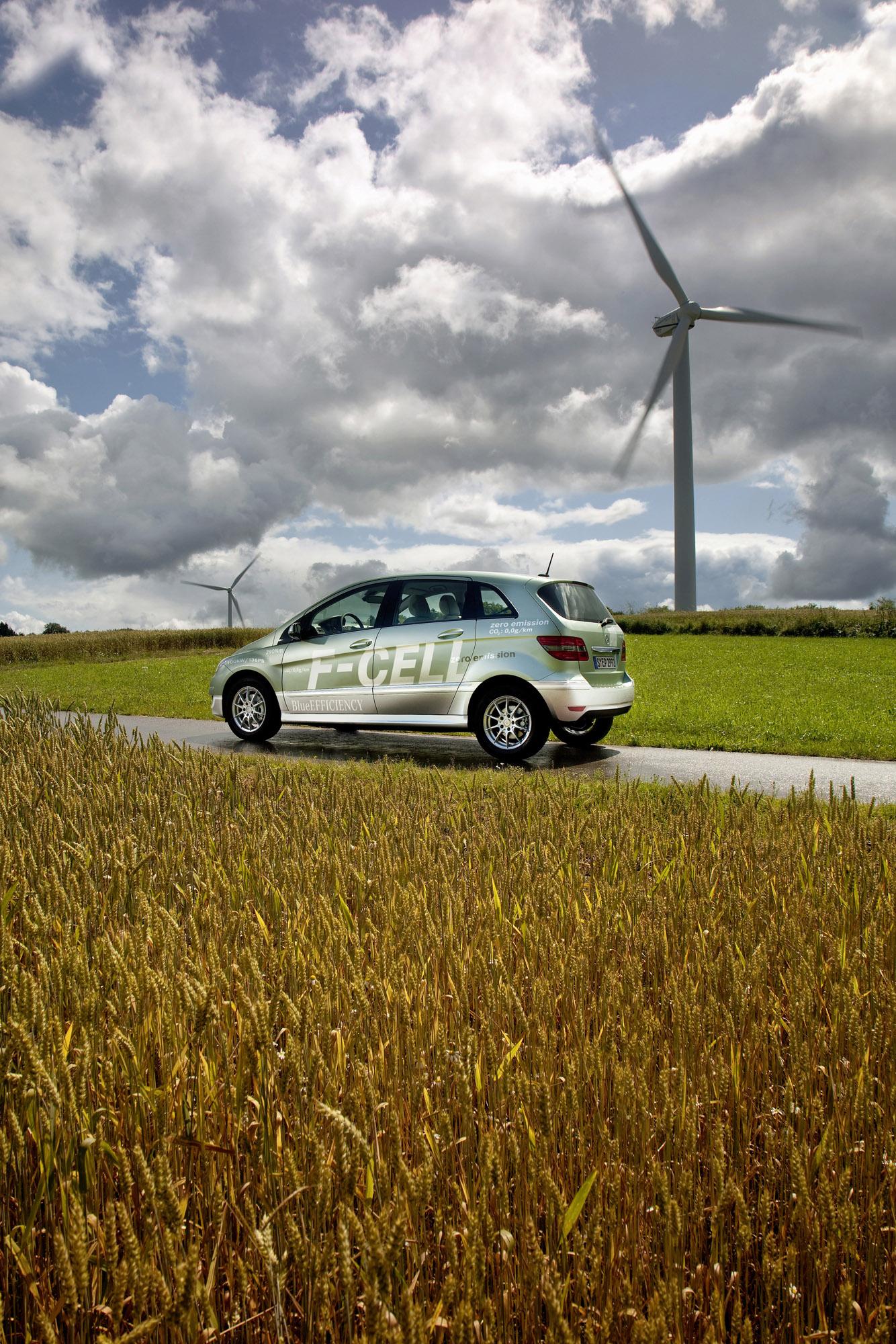 Mercedes-Benz B-класса F-CELL - новый ноль выбросов strike - фотография №3