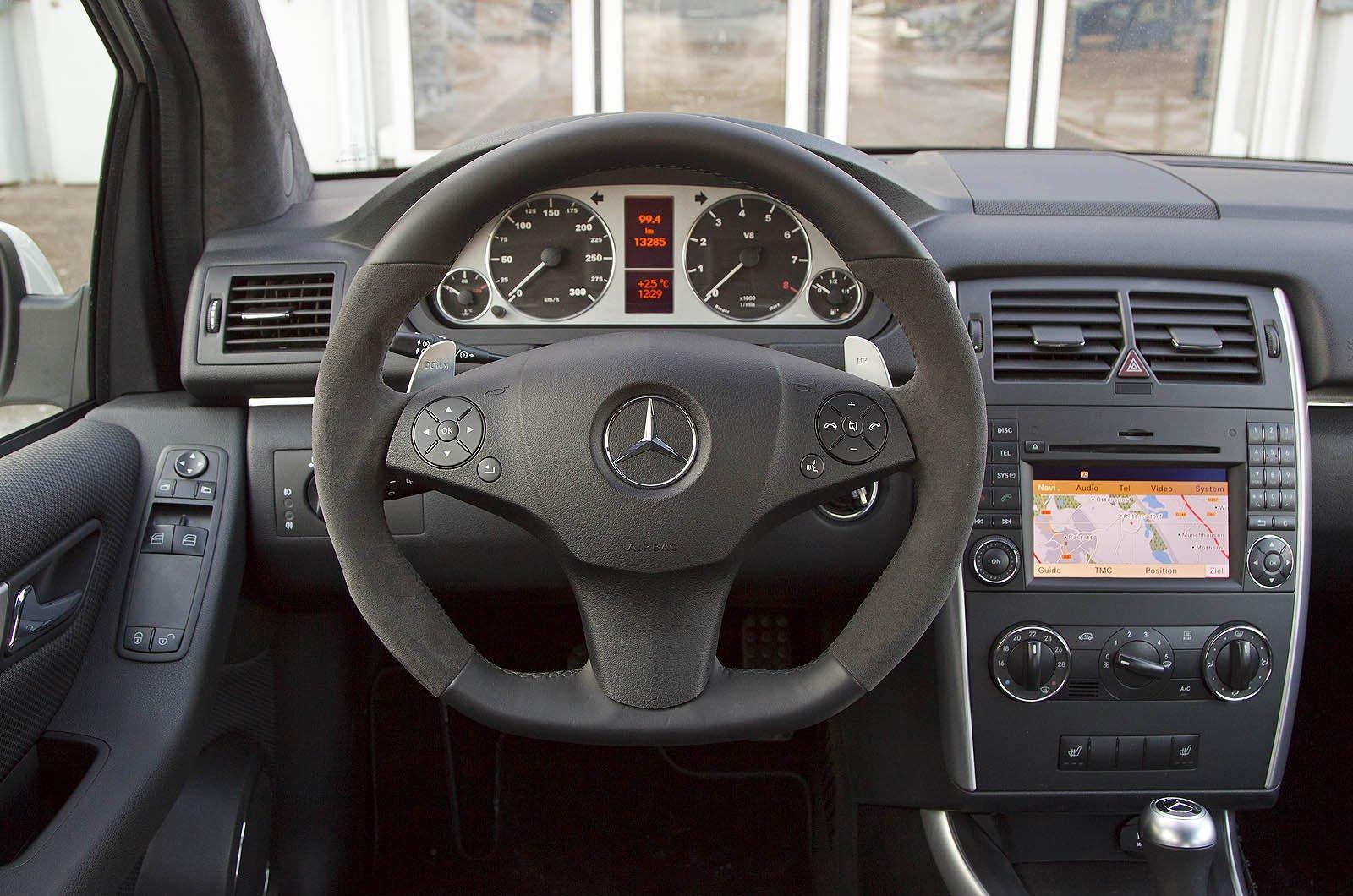 Mercedes-Benz B55 - 378HP и 530 Нм - фотография №6