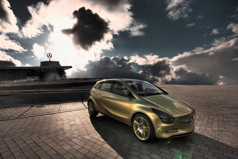 Mercedes-Benz Concept BlueZERO: три раза доказательством повседневная практичность нулевым уровнем выбросов транспортных средств - фотография №17