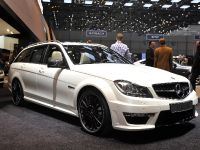 Mercedes-Benz C63 AMG Estate Geneva 2011