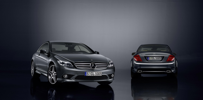 Mercedes-Benz специальная модель CL 500 - 100 лет юбилейное издание с эксклюзивной комплектацией - фотография №2