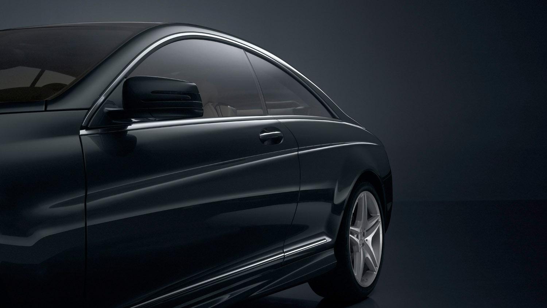 Mercedes-Benz специальная модель CL 500 - 100 лет юбилейное издание с эксклюзивной комплектацией - фотография №3