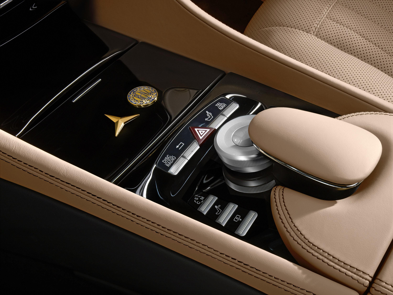 Mercedes-Benz специальная модель CL 500 - 100 лет юбилейное издание с эксклюзивной комплектацией - фотография №7