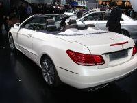 Mercedes-Benz E-Class Cabriolet Detroit 2013