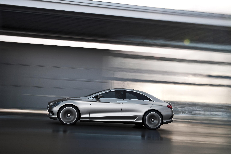 Mercedes-Benz F 800 Style - четкий предварительный просмотр следующей CLS - фотография №18