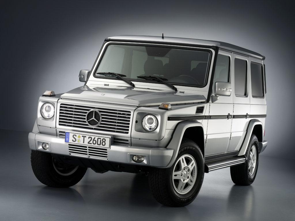 Mercedes-Benz G-Class - фотография №1