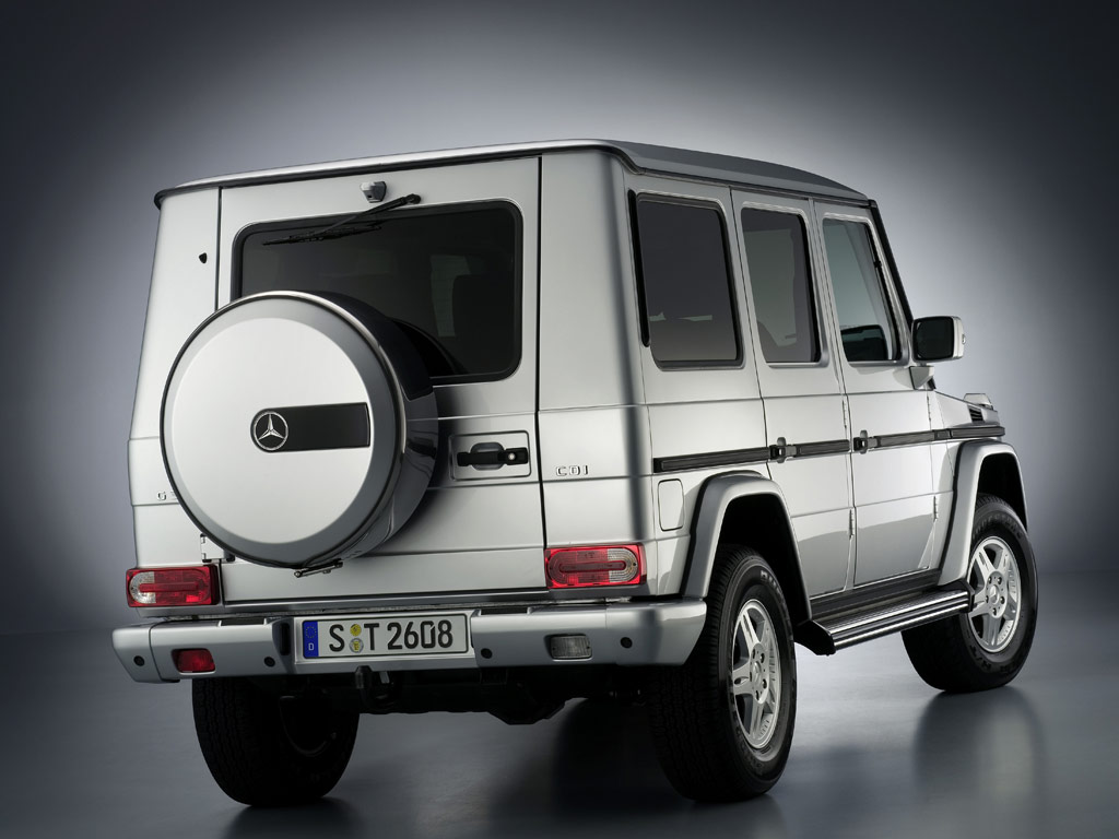 Mercedes-Benz G-Class - фотография №2