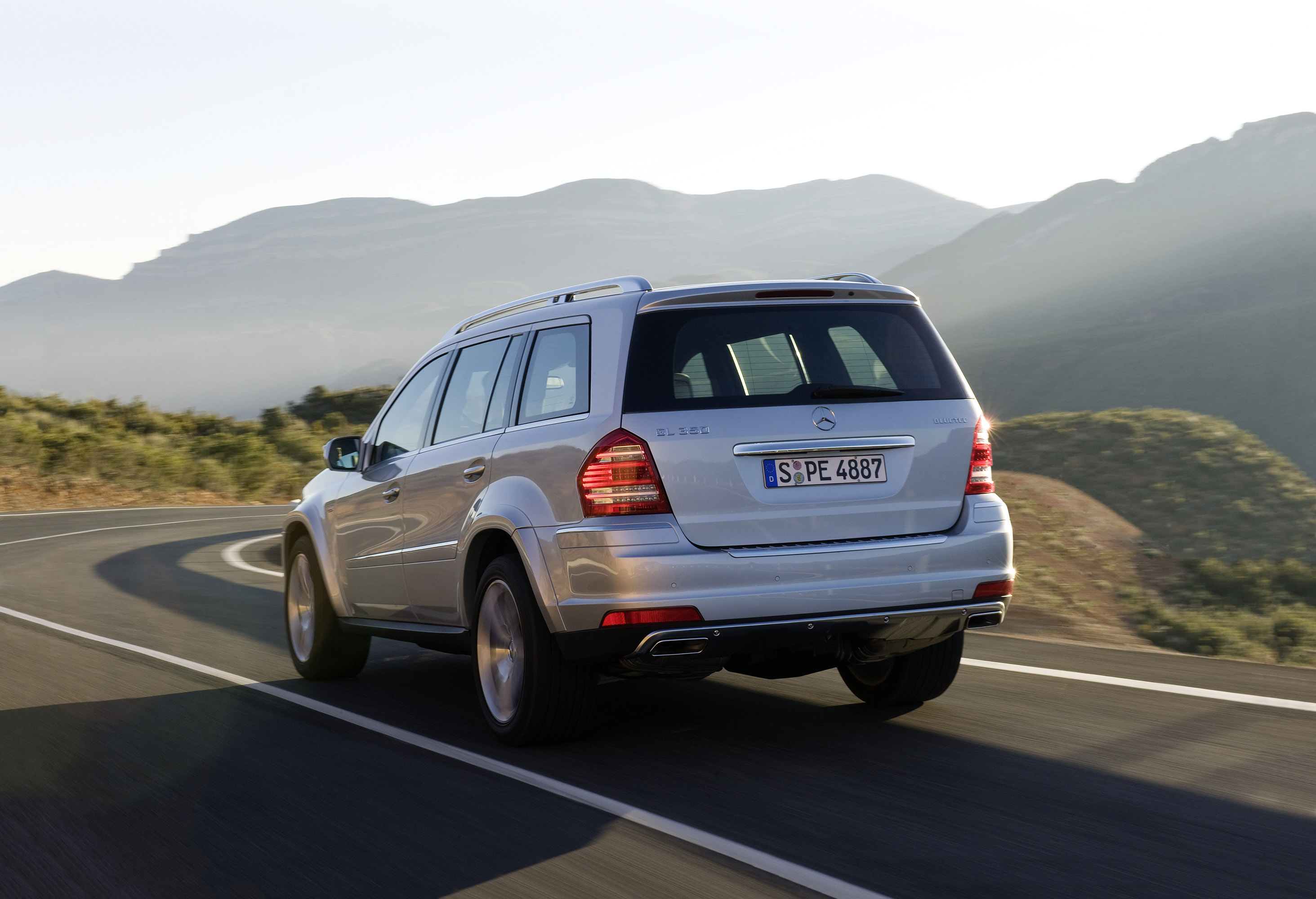 BlueTEC совместно с  Mercedes Benz GL-350 [фотогаллерея] - фотография №8