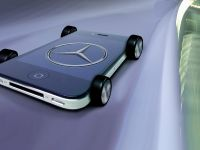 Mercedes-Benz iPhone on wheels - A-Class interior