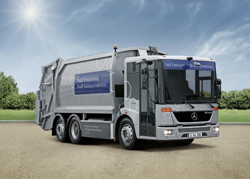 Mercedes-Benz коммунальной техники: наличие в каждом сегменте - фотография №1