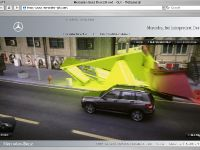 Mercedes Benz Presents an Interactive Web Special