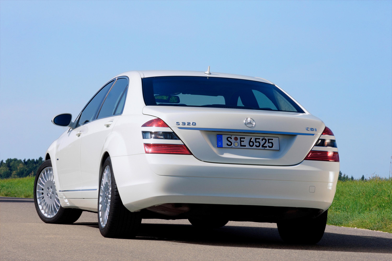 Mercedes-Benz S 320 CDI BlueEFFICIENCY: самые экономные S-класса, когда-либо - фотография №4