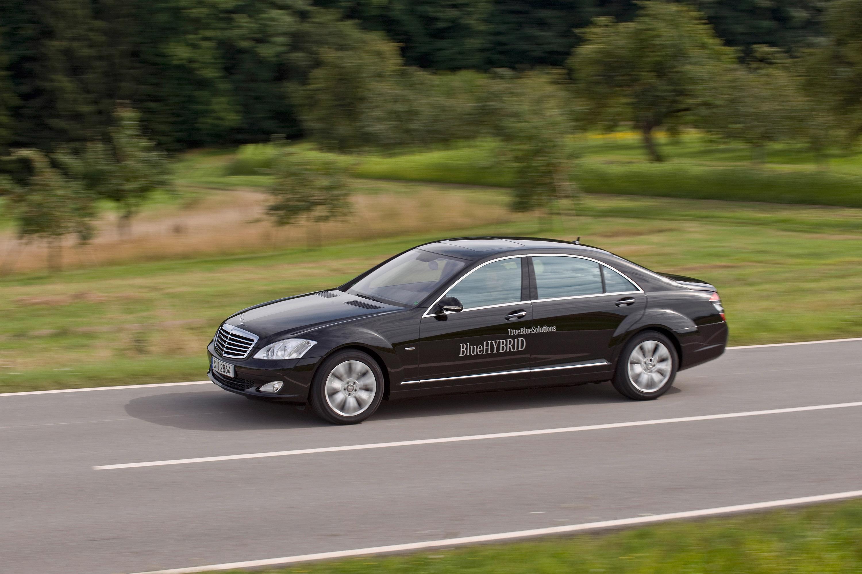Mercedes-Benz S 400 BlueHYBRID - фотография №8