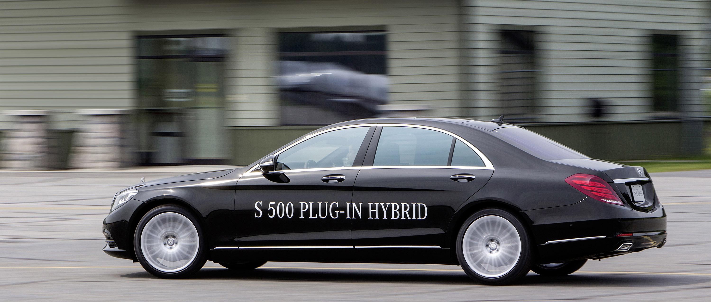 Mercedes-Benz S 500 Plug-In Hybrid-это длинная Колесная база только в Великобритании - фотография №2