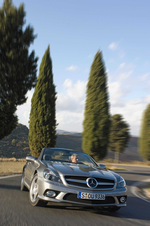 Internet Auto Award 2008: Mercedes-Benz SL самых популярных в Европе родстер - фотография №7