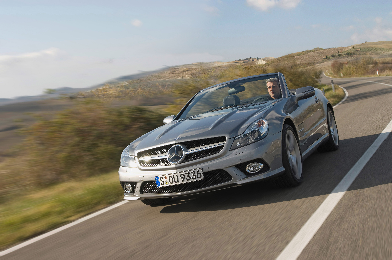 Internet Auto Award 2008: Mercedes-Benz SL самых популярных в Европе родстер - фотография №8