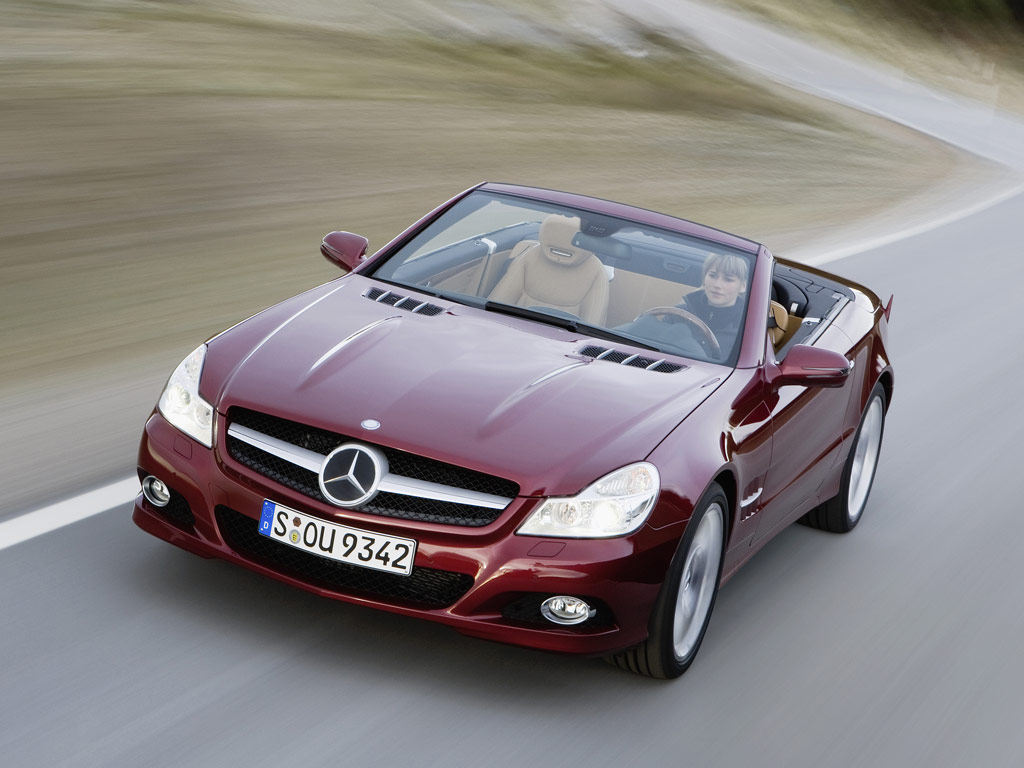 Mercedes-Benz SL-класса - фотография №3