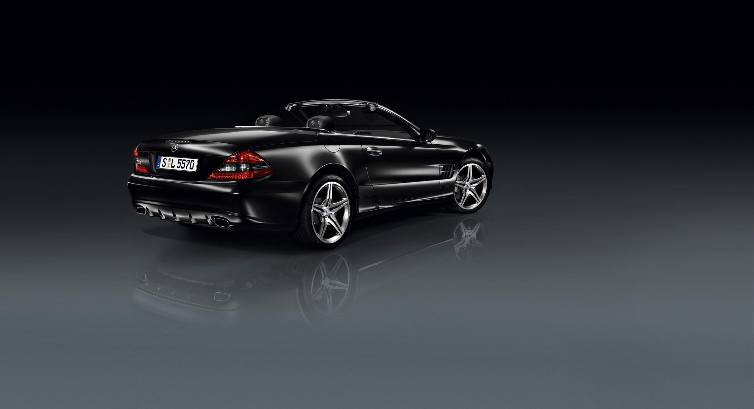 Mercedes-Benz представила SL Night Edition и SLK Grand Edition родстеров - фотография №2