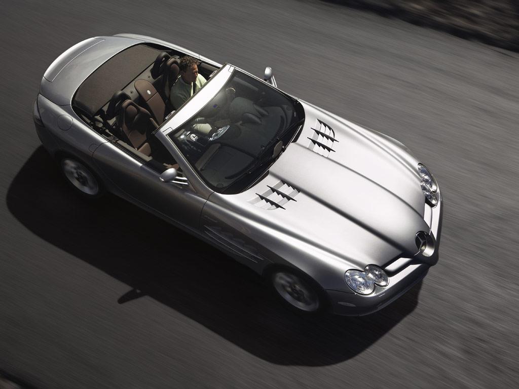 Mercedes-Benz SLR McLaren Roadster - фотография №7