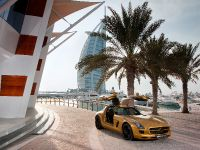 Mercedes-Benz SLS AMG Desert Gold