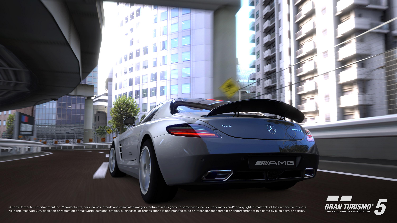 2010 Mercedes-Benz SLS AMG в Gran Turismo®5 - фотография №2