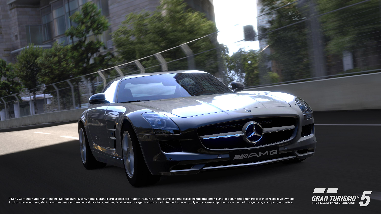 2010 Mercedes-Benz SLS AMG в Gran Turismo®5 - фотография №5