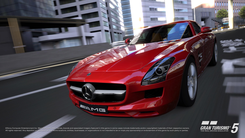 2010 Mercedes-Benz SLS AMG в Gran Turismo®5 - фотография №6