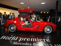 Mercedes-Benz SLS Gullwing Frankfurt 2009