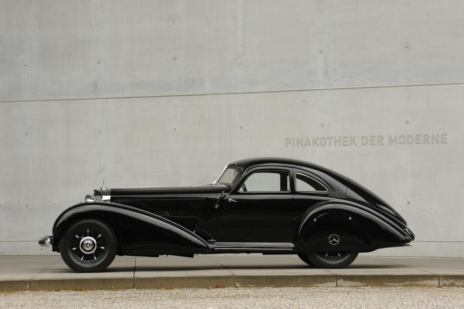 """Выставка """"вехи истории автомобильного дизайна - пример Mercedes-Benz"""" в Pinakothek der Moderne) в Мюнхене - фотография №3"""