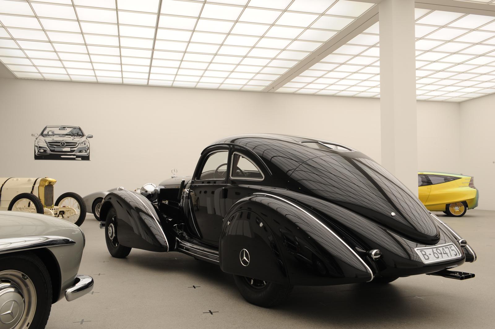 """Выставка """"вехи истории автомобильного дизайна - пример Mercedes-Benz"""" в Pinakothek der Moderne) в Мюнхене - фотография №4"""