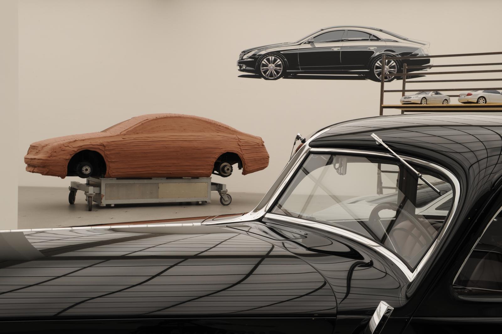 """Выставка """"вехи истории автомобильного дизайна - пример Mercedes-Benz"""" в Pinakothek der Moderne) в Мюнхене - фотография №11"""