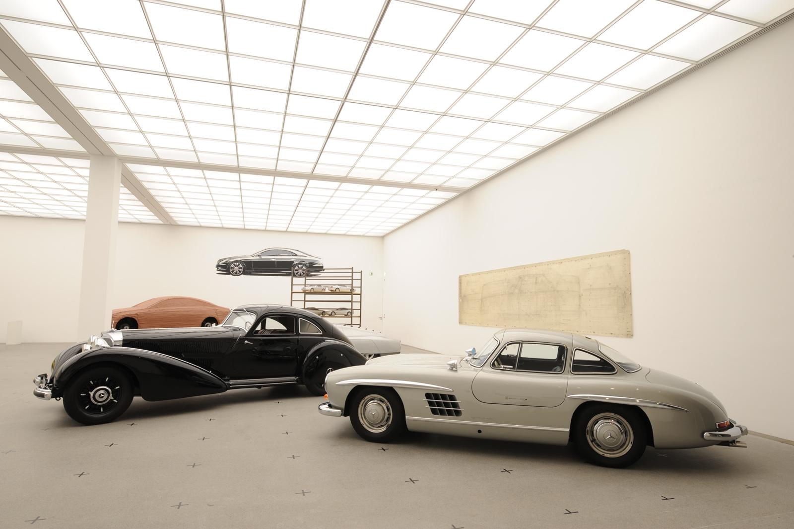 """Выставка """"вехи истории автомобильного дизайна - пример Mercedes-Benz"""" в Pinakothek der Moderne) в Мюнхене - фотография №14"""