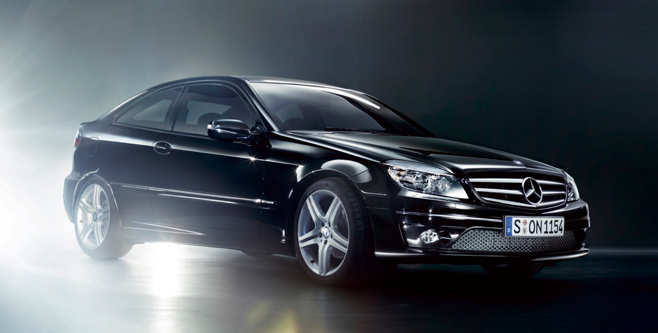 Mercedes-Benz CLC Спорт-купе - мечта сбылась - фотография №2