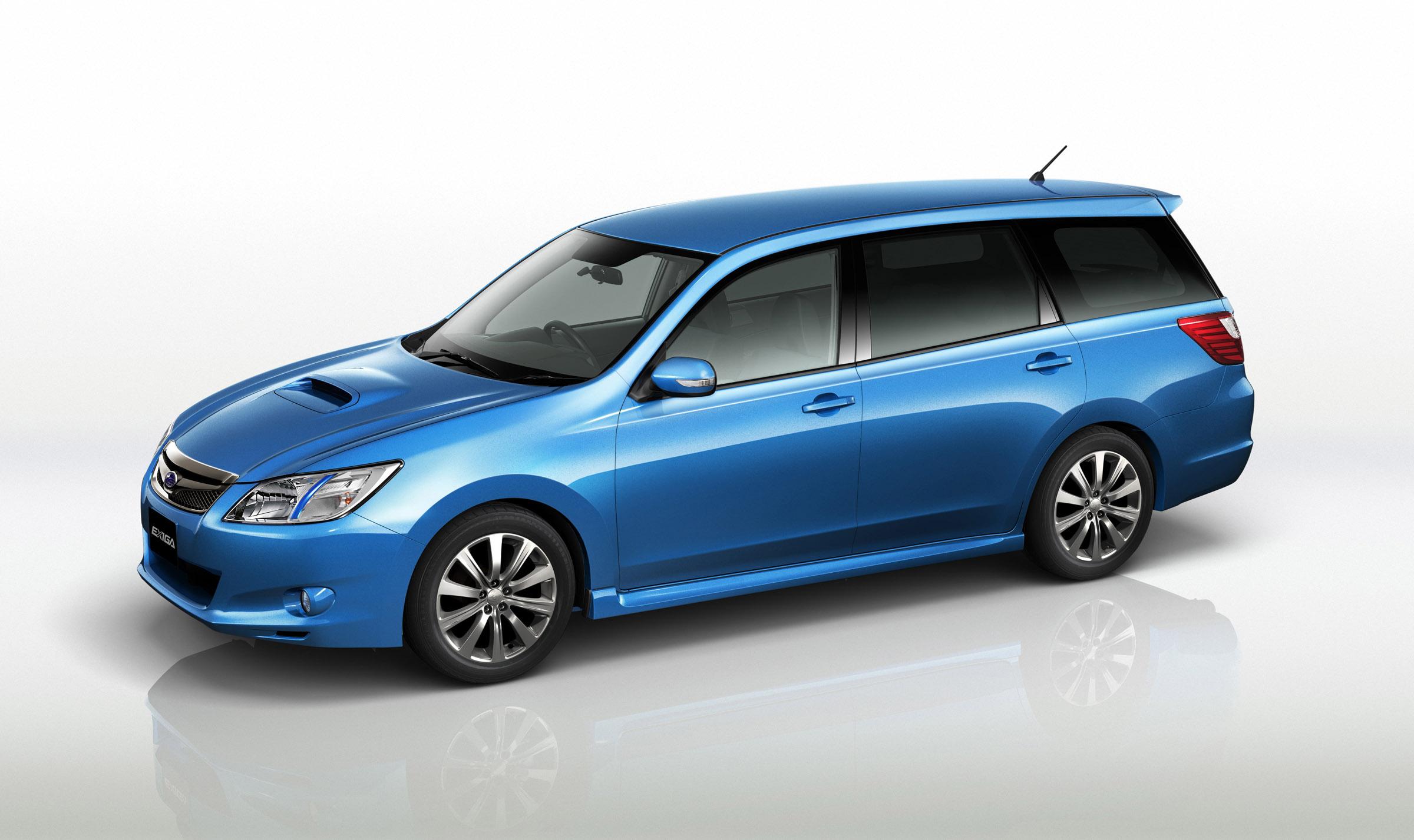 FHI представила новую модель Subaru EXIGA, семи-местный для Panorama Touring - фотография №1