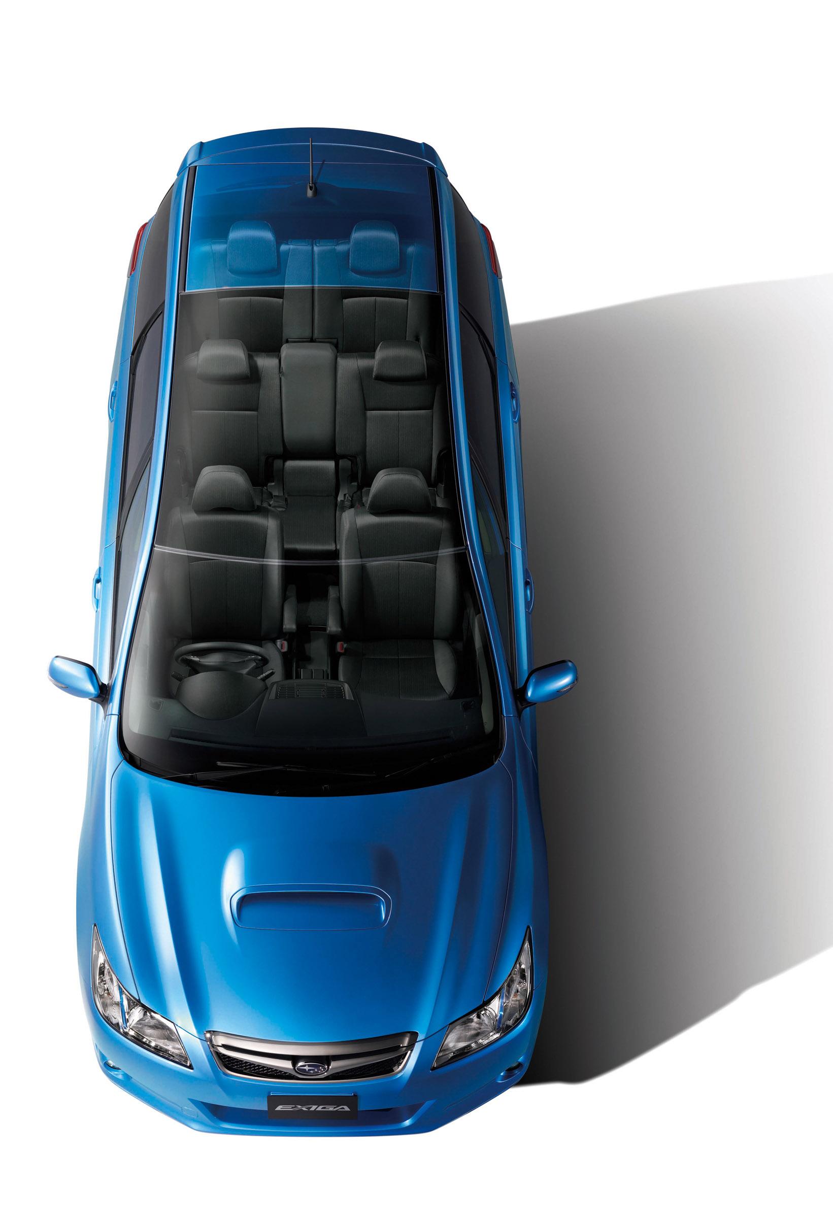FHI представила новую модель Subaru EXIGA, семи-местный для Panorama Touring - фотография №2