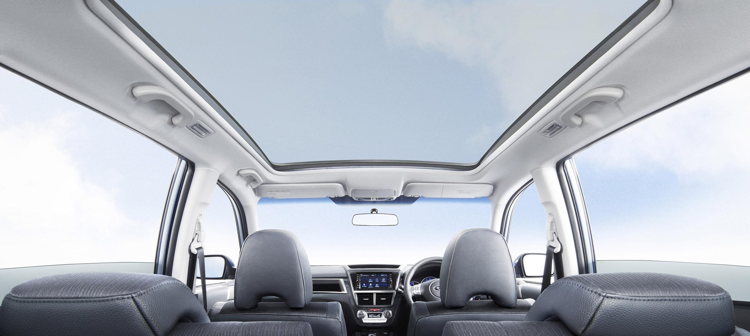 FHI представила новую модель Subaru EXIGA, семи-местный для Panorama Touring - фотография №8