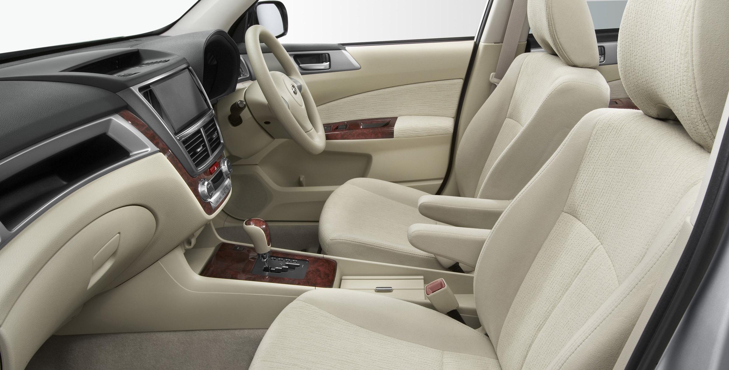 FHI представила новую модель Subaru EXIGA, семи-местный для Panorama Touring - фотография №9