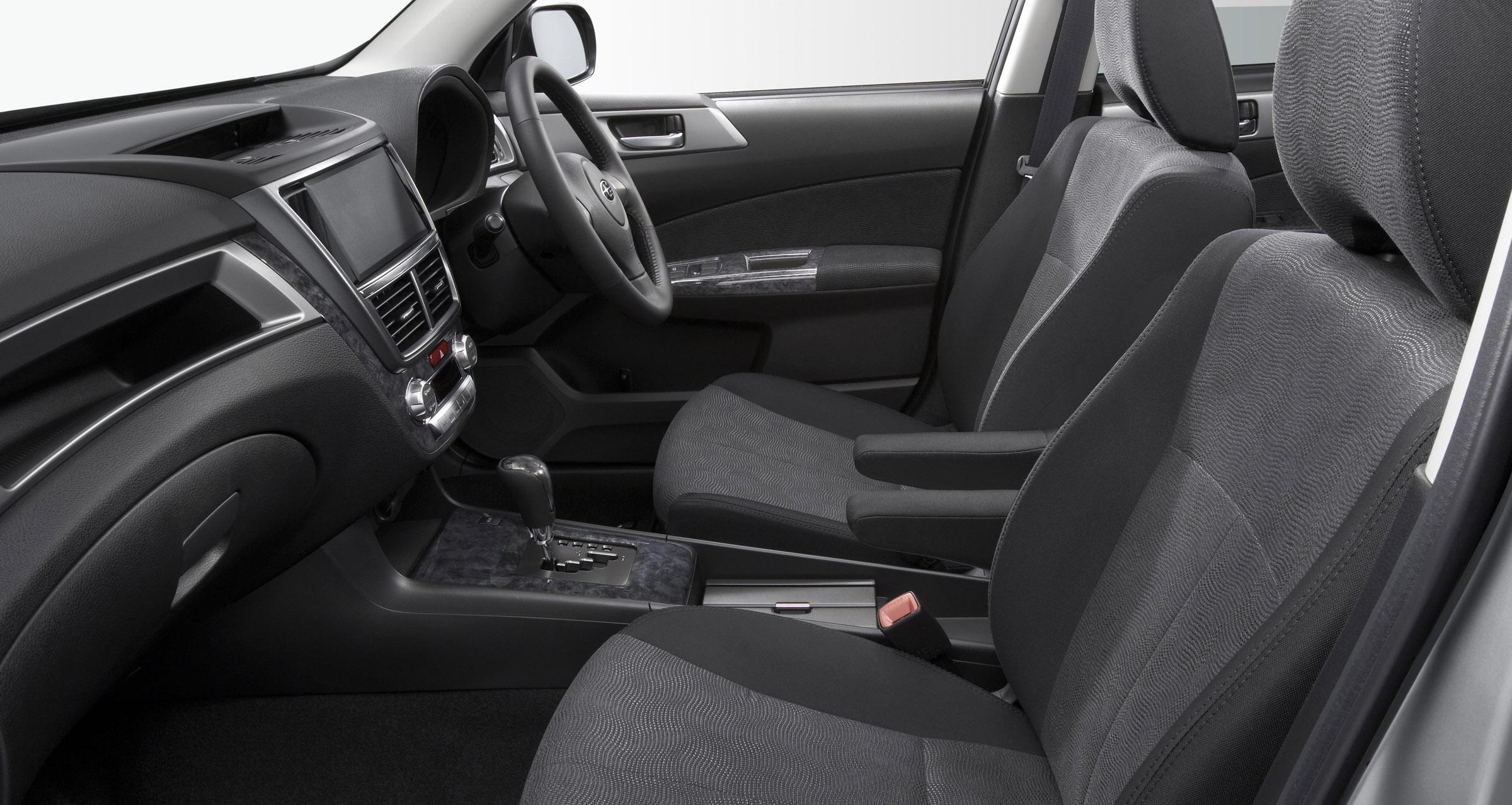 FHI представила новую модель Subaru EXIGA, семи-местный для Panorama Touring - фотография №10