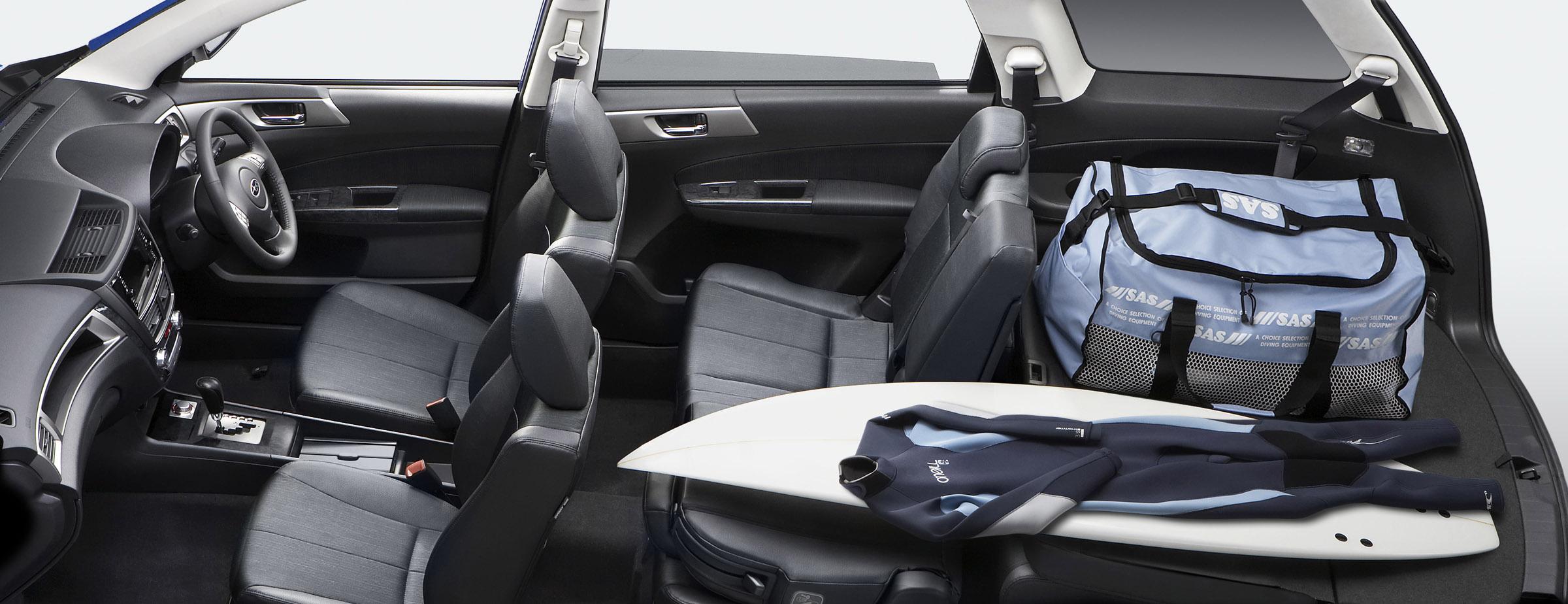 FHI представила новую модель Subaru EXIGA, семи-местный для Panorama Touring - фотография №11